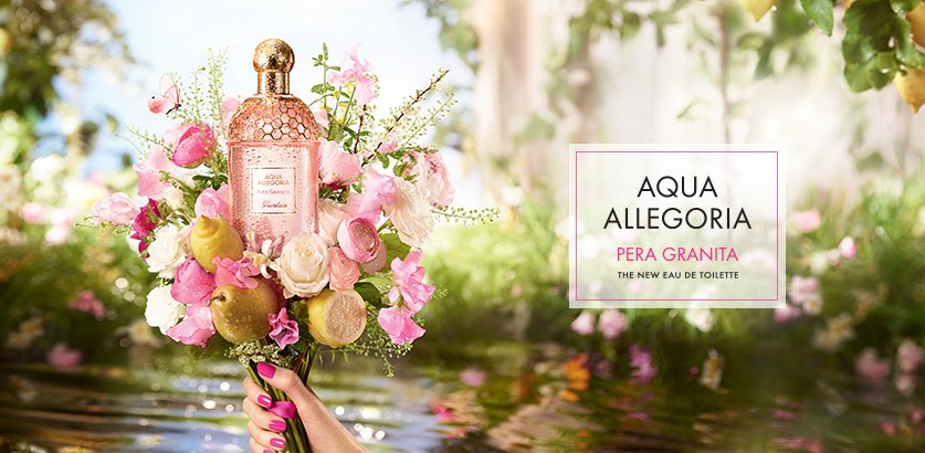 PERA GRANITA: ALWAYS SPRING WITH AQUA ALLEGORIA OF GUERLAIN